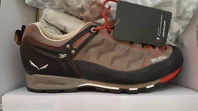 Salewa Mountain Trainer Hiking Shoes Bungee / Firebrick 7552 SIZE US11.5 /EU45