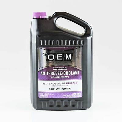 Oem Antifreeze/coolant Concentrate Extended Life Purple Euro Ii Audi , Vw , Pors