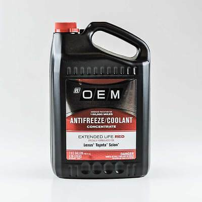 Oem Antifreeze/coolant Concentrate Extended Life Red Toyota Lexus Scion
