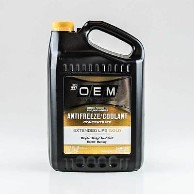 Oem Antifreeze/coolant Concentrate Extended Life Gold Chrysler Dodge Jeep Ford