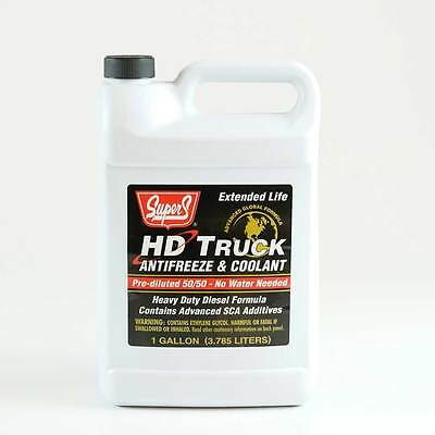 Hd Antifreeze/coolant Concentrate Extended Life Red For Diesel Trucks & Engines