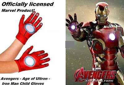 Avengers - Age of Ultron - Iron Man Child Gloves -  Marvel