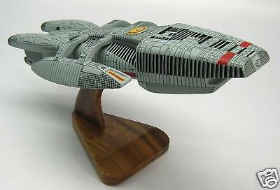Prometheus Battlestar Galactica Spaceship Handcrafted Wood Model Regular New