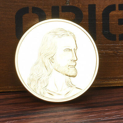 Jesus The Last Supper Gold Plated Challenge Coin Gold Coin Nice Gift Collection