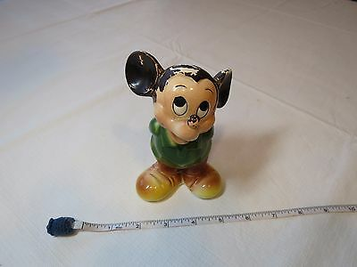 Vintage Mickey Mouse bank Disneyland Walt Disney Productions Japan Rare change