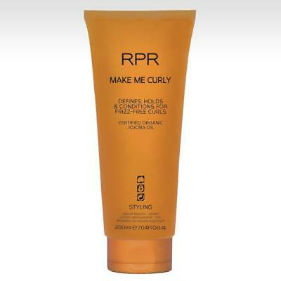 RPR Make Me Curly 200ml Hair Styling Treatment Frizz Free Weightless Curls