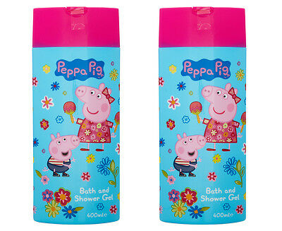 2 x Peppa Pig Bath & Shower Gel 400mL