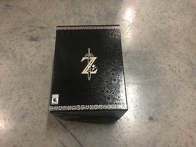 Legend of Zelda Breath of the Wild Master Edition Nintendo Switch NEW