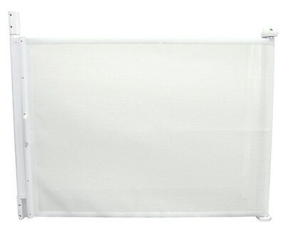 The First Years Hide-Away Retractable Gate - White
