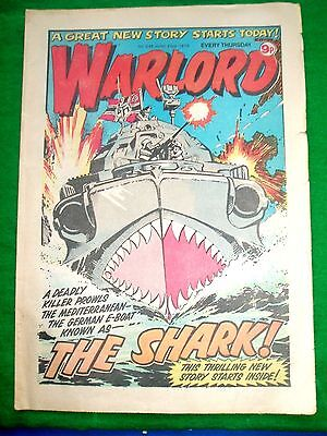 Warlord Comic 23/6/79 With  Raf Hawker Harrier  V/stol Fighter Feature Page