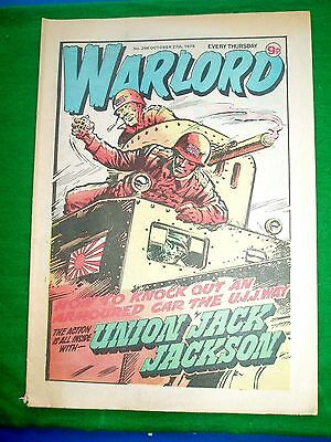 Warlord Comic 27/10/79 With  7Tp Light Tank  Colour Poster Page