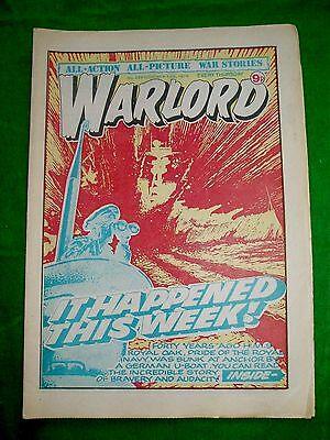 Warlord Comic  13/10/79 With  U.s. M.3  Lee / Grant Tank  Colour Poster Page