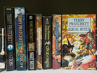Terry Pratchett - Discworld & More - 7 Books Collection! (ID:45608)