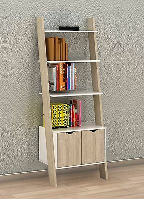 SoBuy® Wall Shelf Cabinet, Bookcase, Storage Display Shelving Unit FRG110-WN, UK