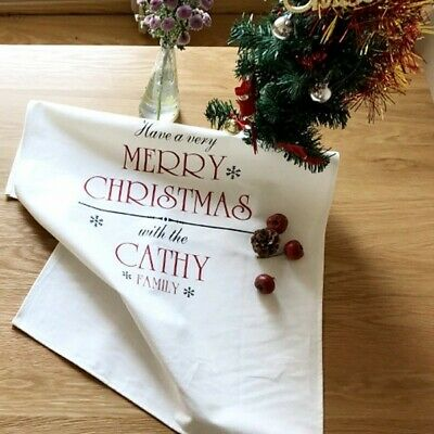 Christmas Placemat Fresh Cotton Tablecloth Napkin Cloth Home Furnishing Insulati
