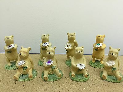 Winnie The Pooh Classic - Birthstone Gemstone Month Figurines CHOOSE YOUR MONTH