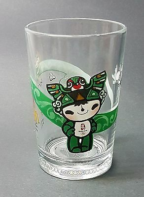 Mcdonalds 2008 Bejing Olympics Collectible Glass Cup / Tumbler - Team Canada