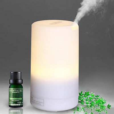 Ultrasonic Aroma Diffuser LED Air Purifier Humidifier Essential Oil Aromatherapy