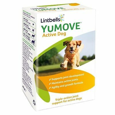 Lintbells Yumove Joint Care Young & Active Dog 60 or 240 Tablets