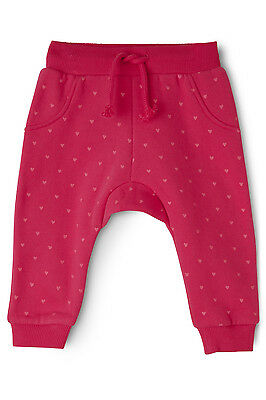 NEW Sprout Girls Trackpant Rose Red