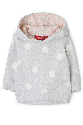 NEW Sprout Girls Hoodie Grey Marle