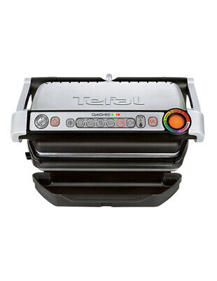 NEW Tefal Opti Grill Plus: Silver: GC712