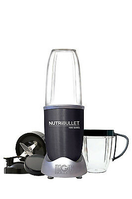 NEW Nutribullet 1000 watt 9 piece Nutrient Exractor: Dark Grey: N10-0907DG