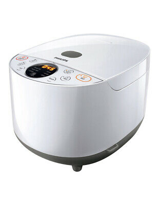 NEW Philips Grain Master Rice Cooker: White: HD4514/72