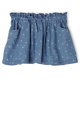NEW Sprout Chambray Skirt Denim