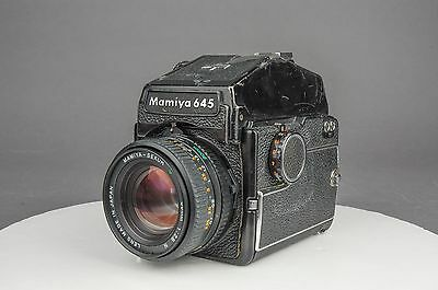 Mamiya M645 Medium Format Camera w/ Mamiya Sekor C 80mm f/2.8 Lens