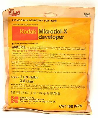 Kodak Microdol-X Developer to make 1 gallon