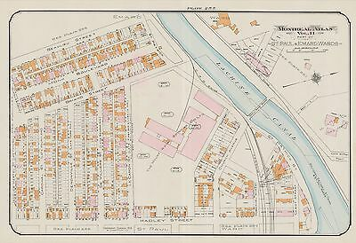 1913, Charles E. Goad, Montreal, Canada, Mount Royal Spinning Co. Copy Atlas Map