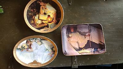 The Master Peace Collection  - Lot of 3 Plates - Blackshear and Gerhartz