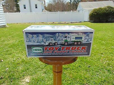 2008 Hess Toy Truck With Front Loader New NRFB