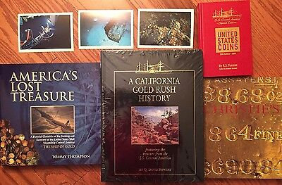 Ss Central America Book Collection Featuring A California Gold Rush History