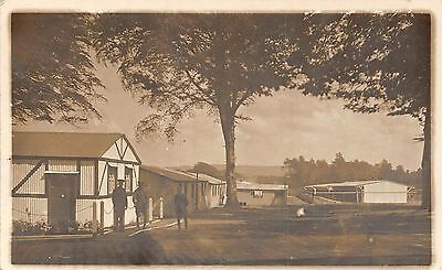 POSTCARD  MILITARY    Military  Camp  Location  Unknown
