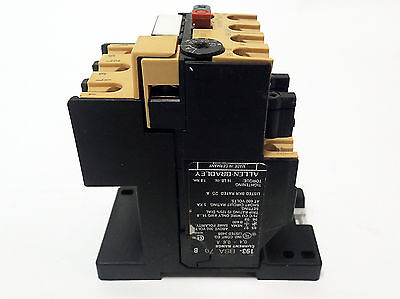 Allen Bradley 193-Bsa 70 Overload Relay With 193-Bpm1 Series C Mounting Adapter