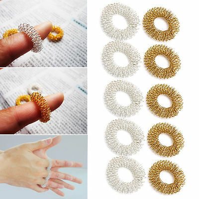 Acupressure circulation ring - Su-jok increase blood flow x 5 -TRUSTED UK SELLER