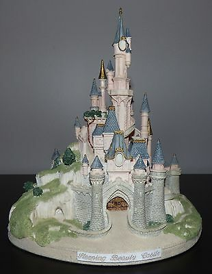 Walt Disney John Hines Studios Sleeping Beauty Castle Signed Le Figurine