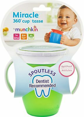 Munchkin Miracle 360 Cup Colors May Vary, 7 oz (Pack of 4)