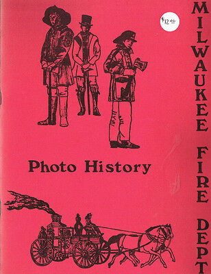 Milwaukee Fire Department Photo History - Vintage 1983 Edition - Vg Cond.