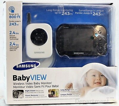 Samsung Baby View Wireless Video Baby Monitor-N.O.