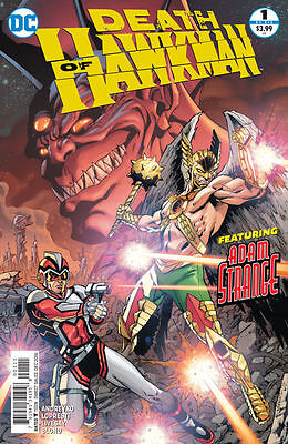 Death of Hawkman #1. First printing!