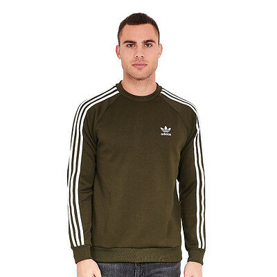 adidas - Superstar Crewneck Sweater Night Cargo Pullover Rundhals