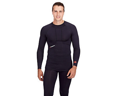 KingGee Men's G2 Compression Long Sleeve Top - Navy