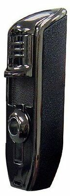 Triple Torch Flame Cigar Lighter with Built-In Cigar Punch Cutter