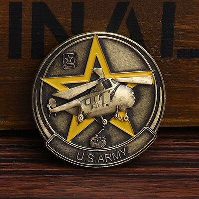 New 40MM 38TH PARALLEL THE FORGOTTEN WAR U.S.ARMY Commemorative Coins