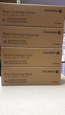 FULL SET Geuine Xerox CT350895/6/7/8 Drums for DC-IV-C4430 BK/C/M/Y Brand New!!
