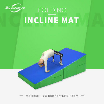 120x60x35x10 Small Size Gymnastic  Exercise Training Folding Incline Mat