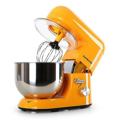 Pro Electric Food Processor Dough Mixer By Klarstein 1200W 5L Stainless Steel